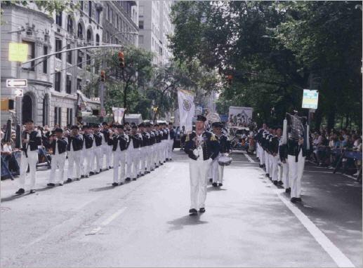 Steubenparade 1998 auf der 5th Avenue