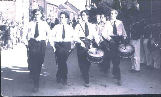 Erstes Jugendkorps nach dem Krieg
