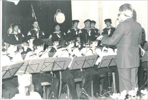 Erstes Nikolauskonzert im Saale Ohlenforst - 1977