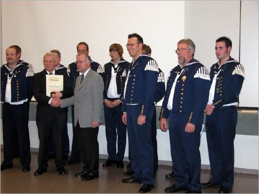 Ehrungen Auch weitere verdiente Mitglieder wurden geehrt.