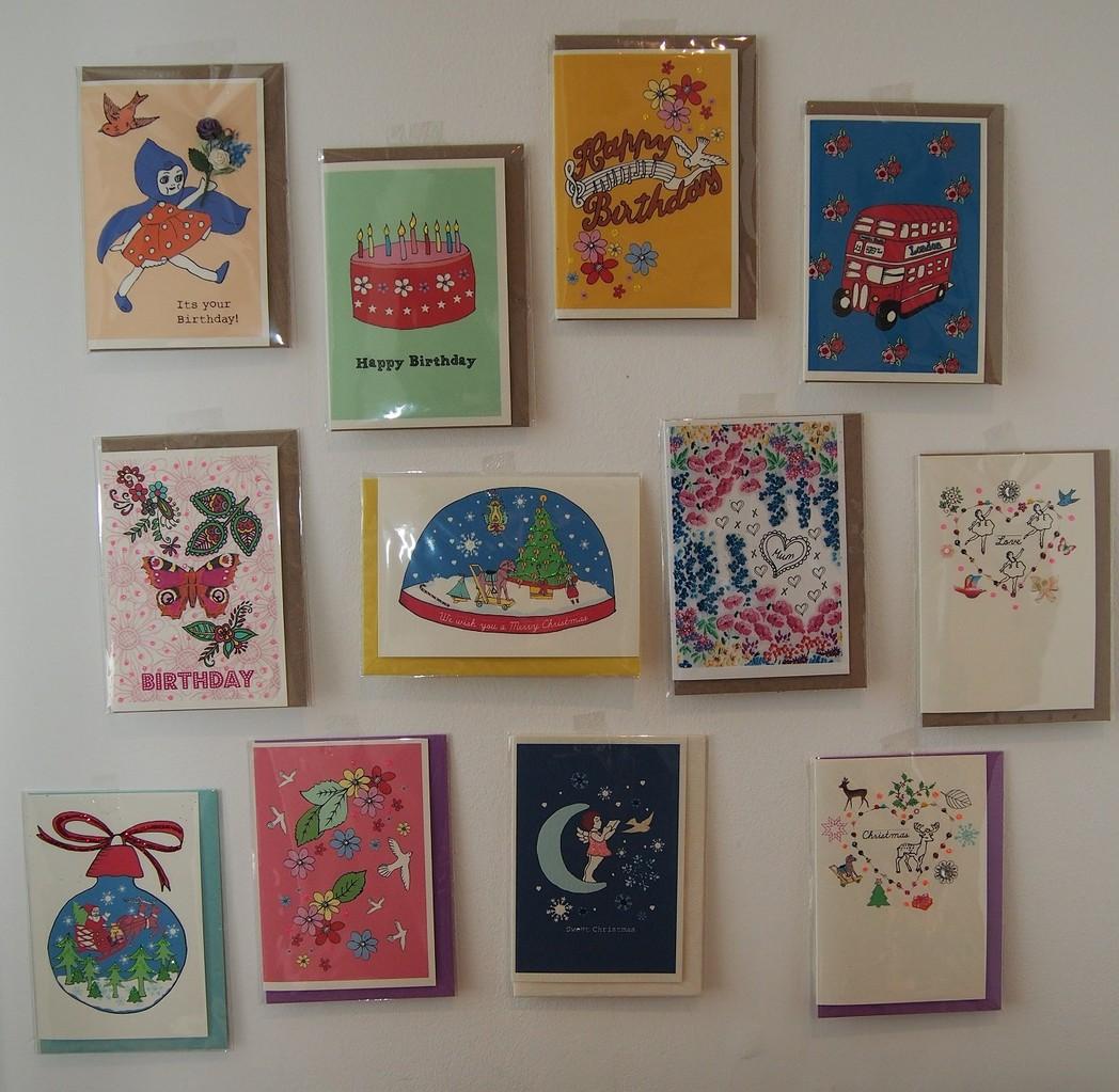 Rosie Wonders グリーティングカード