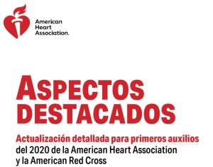 Aspectos Destacados Aha 2020, RCP AHA 2020