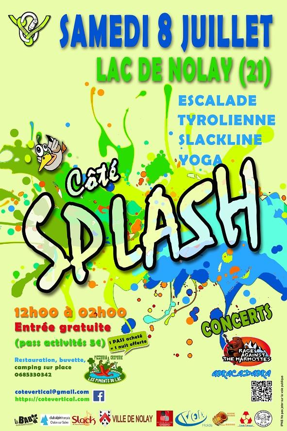 Affiche Côté Splash 2017