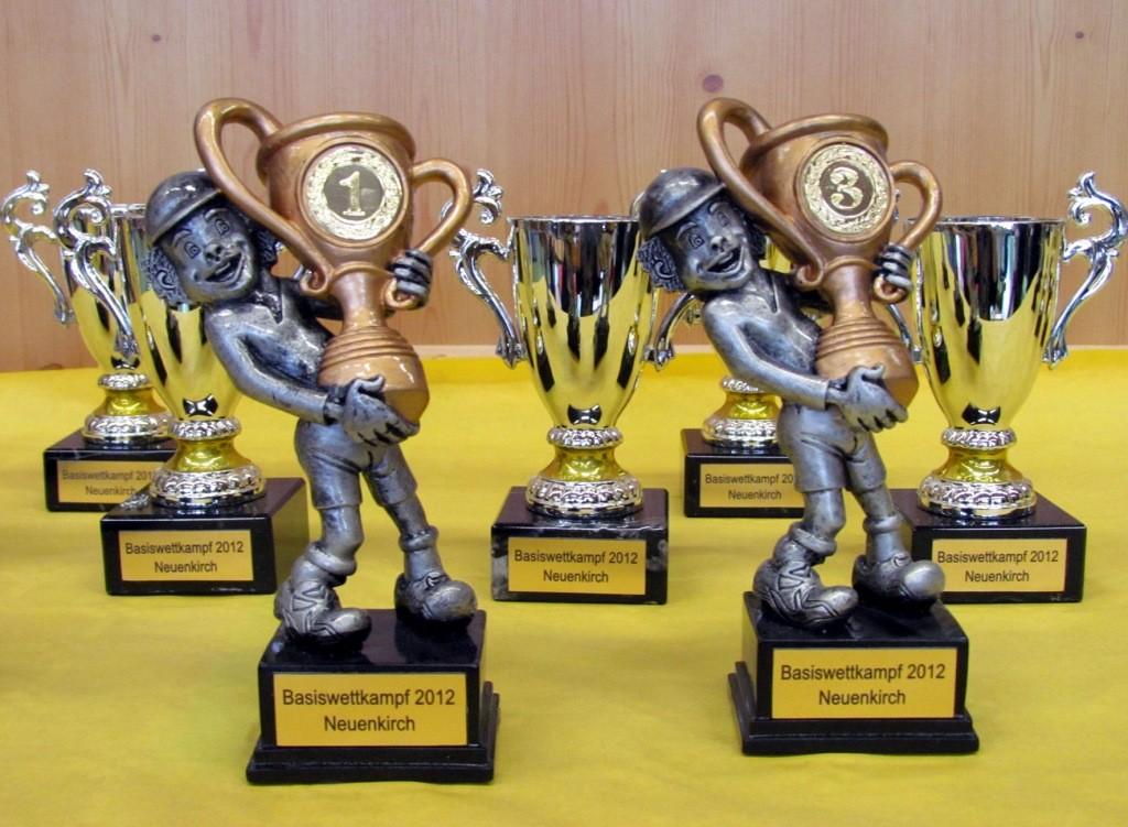 Ganz spezielle Pokale für die Gewinner