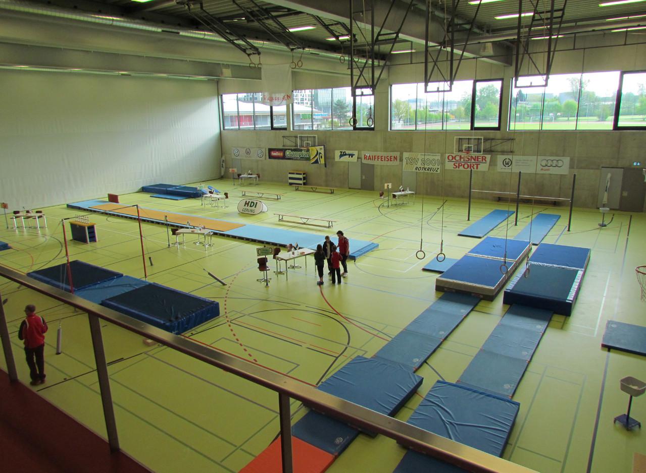 Die moderne 3fach-Turnhalle in Rotkreuz