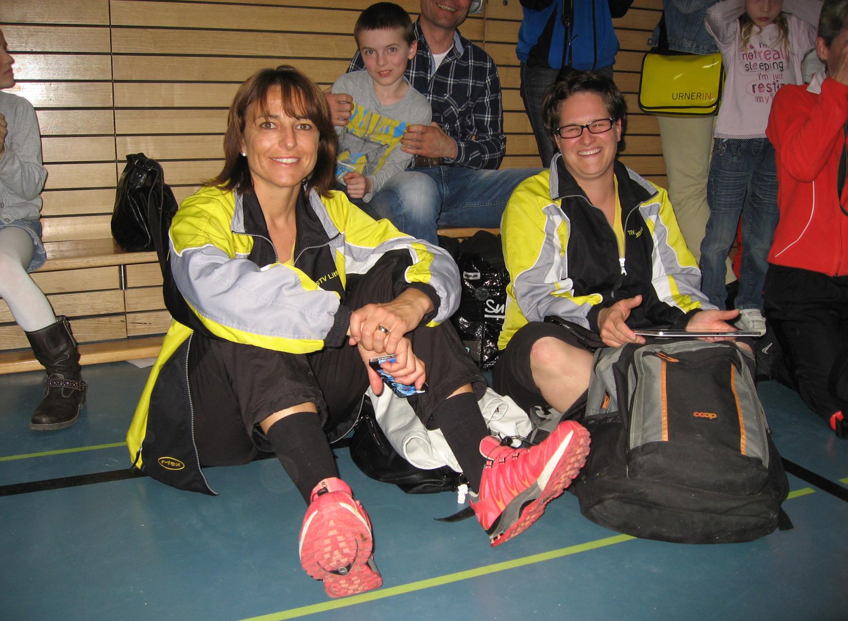Manuela und Patricia-unsere Betreuerinnen