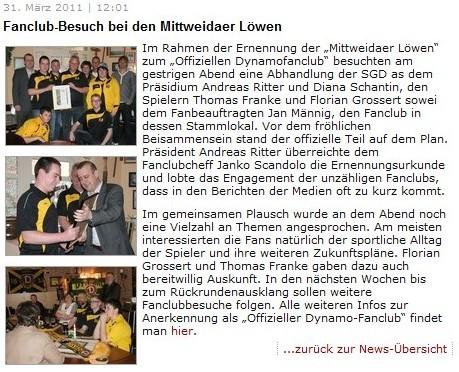 Quelle: www.dynamodresden.de (03/2011)