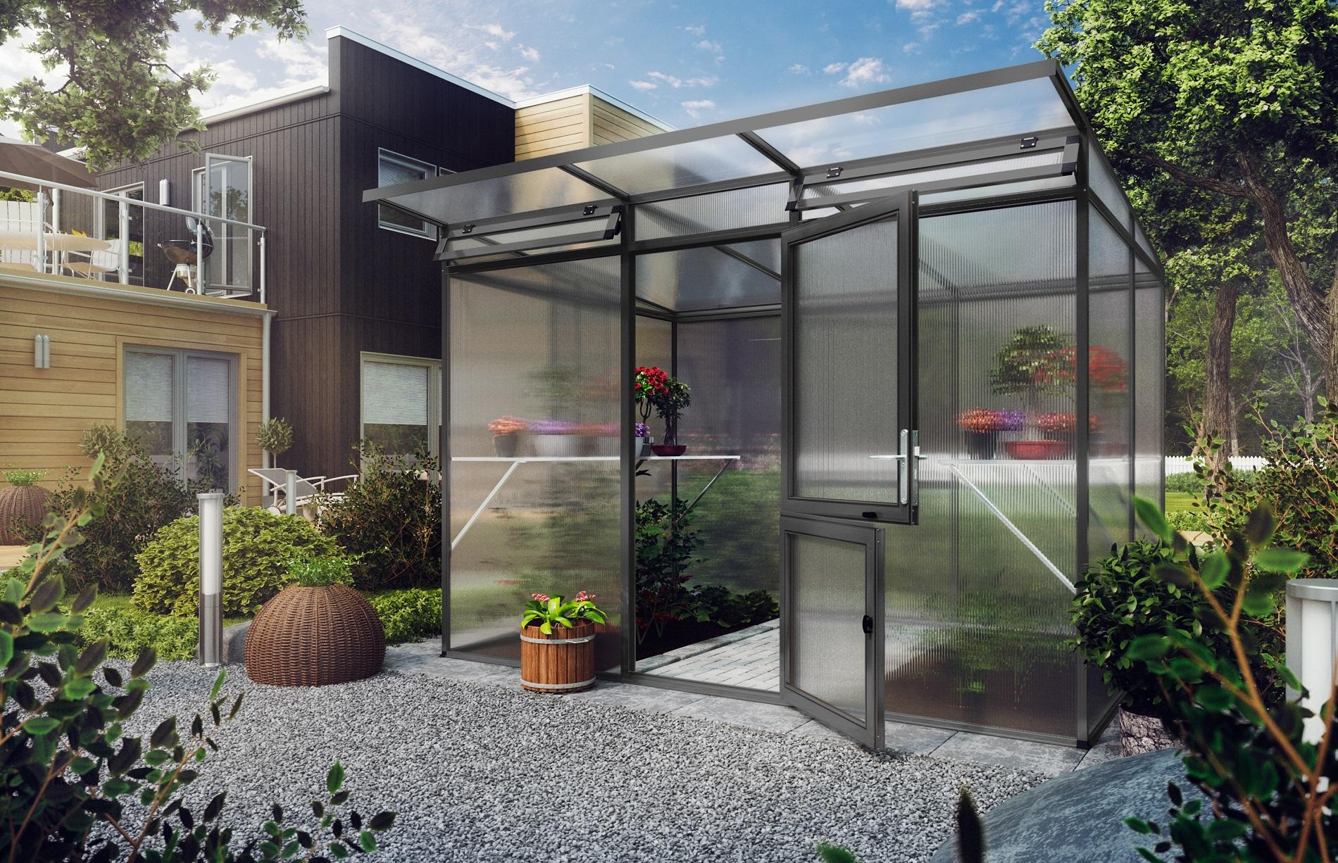 Gewächshäuser 2021 erleben