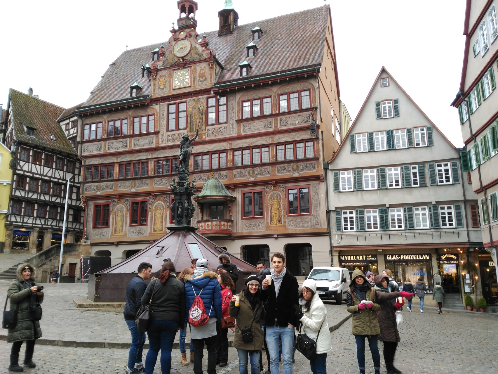 ein Regentag: Waldenbuch, Bebenhausen, Tübingen. Danke an Guido für die Führung durch Tübingen.