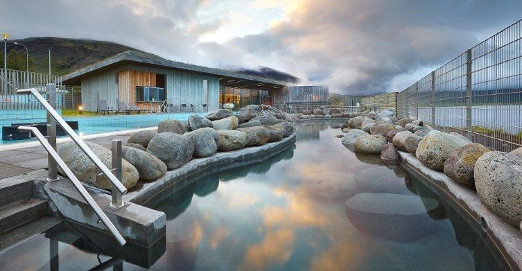 Fontana Spa ist Wellness pur in Island