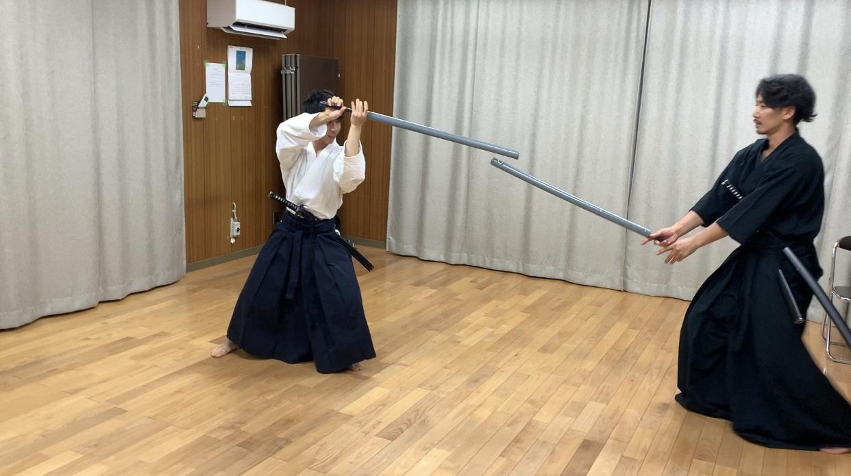 防具なし剣道