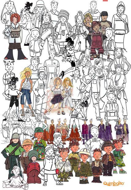 Een verzameling van illustraties die ik voor verschillende bedrijven maakte.