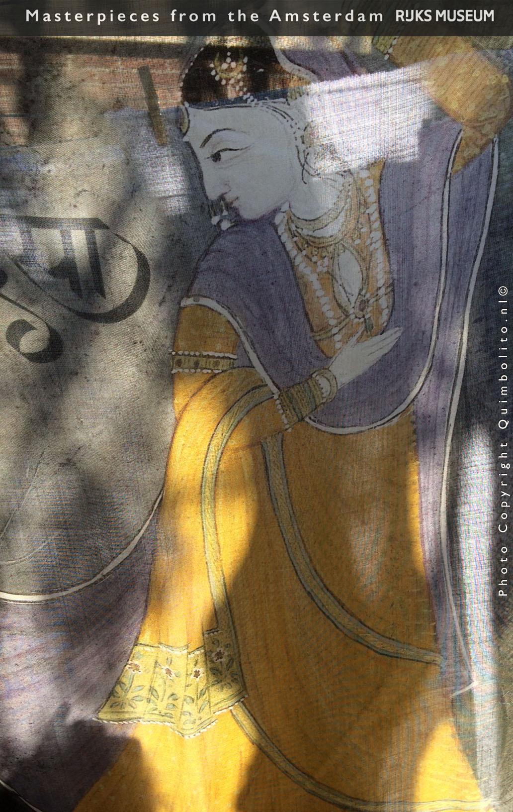 Silk-Woollen scarves with masterpieces of the Rijksmuseum Amsterdam.