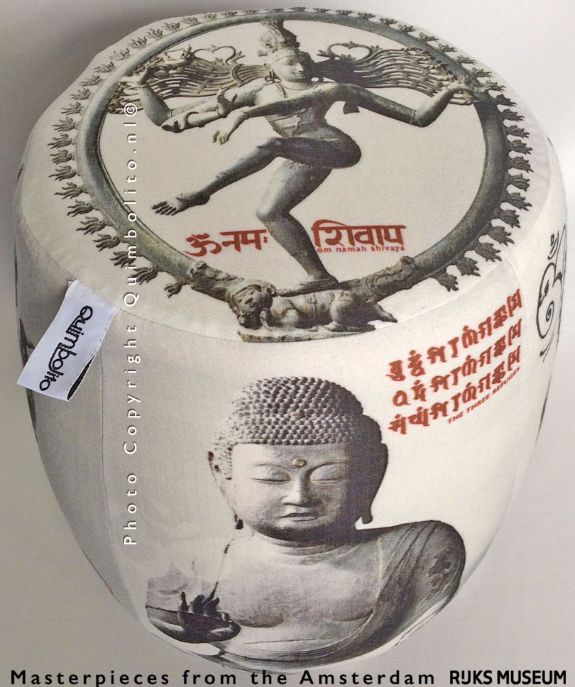 Meditation pouf. Masterpieces from the RIJKSmuseum Amsterdam