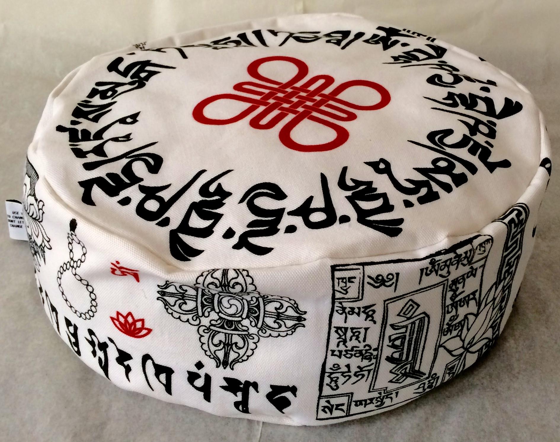 Eigen ontwerp in opdracht voor iemand met kennis van Tibetaans Boeddhisme