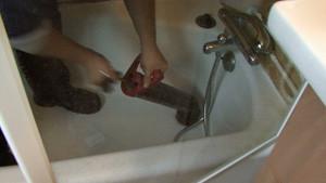 Dégorgement canalisation baignoire