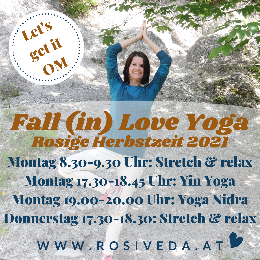 Fall (in) Love Yoga - Rosige Herbstzeit 2021