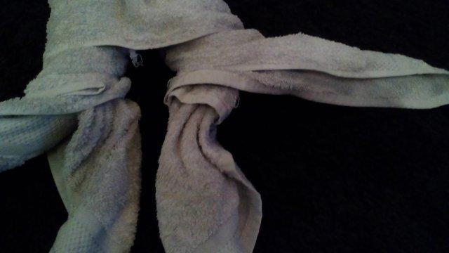 Handtuchfiguren falten Kraken Octopus für deine Zimmerdekoration. Origami mal mit Handtüchern. Falte niedliche Figuren, Tiere und andere Origami Motive aus deinen Badetücher oder Gästetücher. Servietten falten mit Handtüchern. Basteln mit Kindern