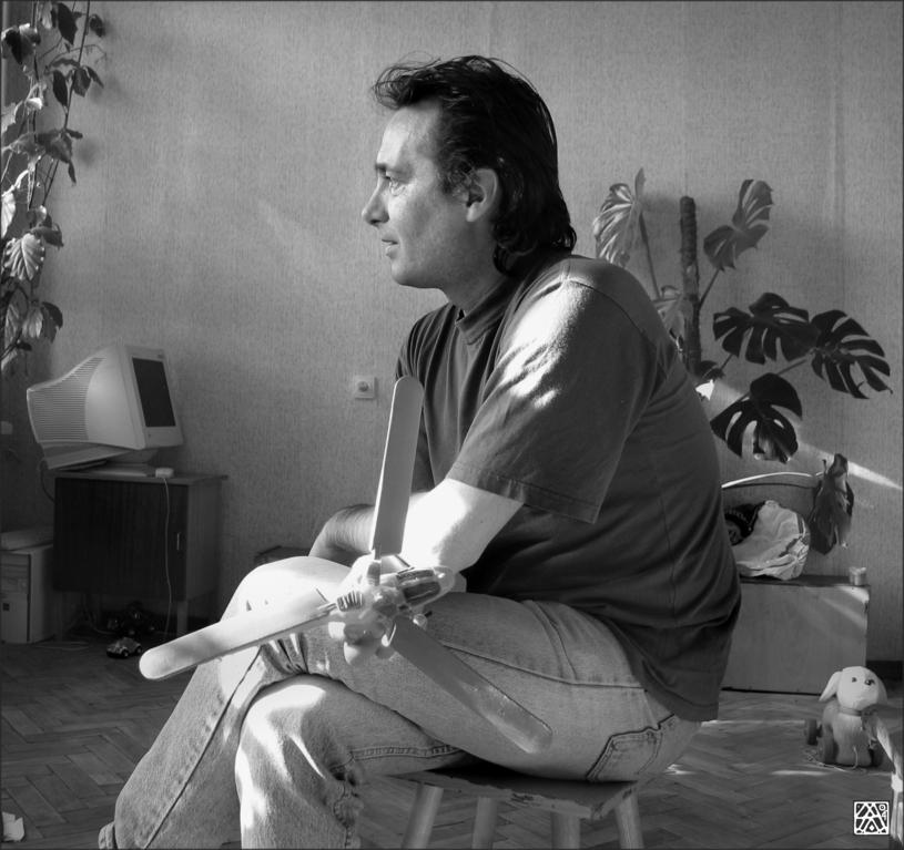 """""""Портрет художника Михаила Черчика"""" Санкт-Петербург. 2004г."""