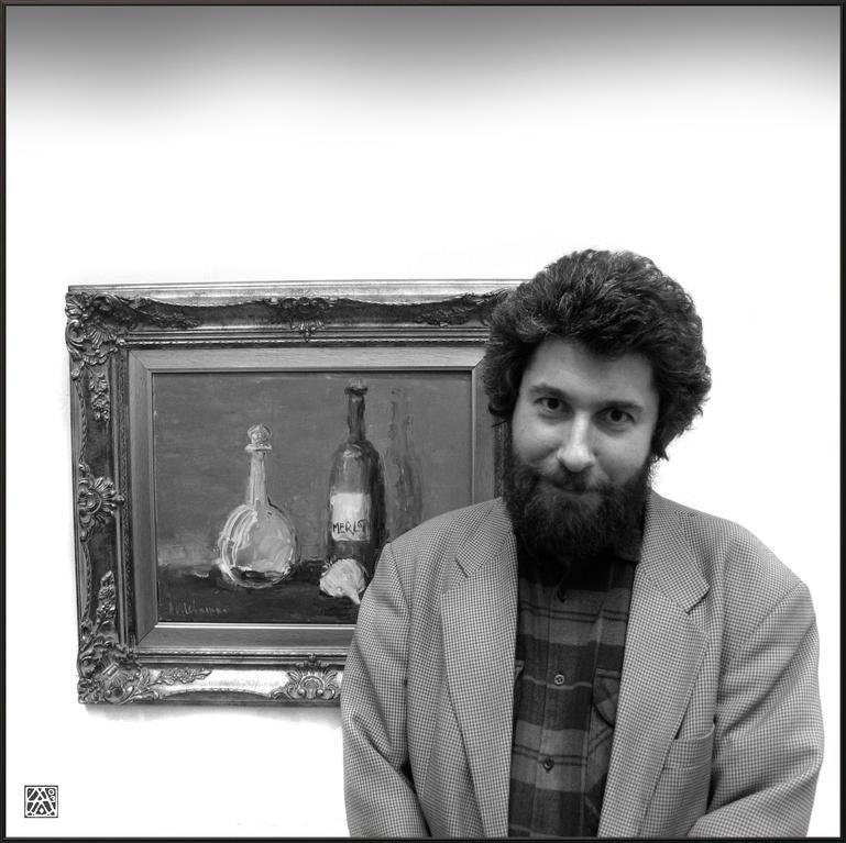"""""""Портрет Андрея Филиппова (Фила)""""  2003г."""