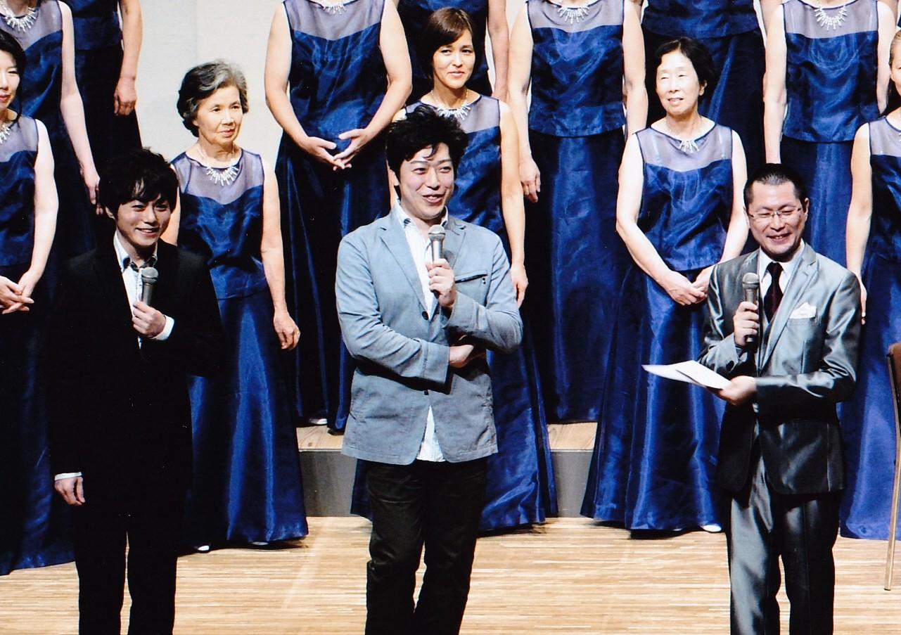 「窓よりゆめを」作歌/栗原寛先生、作曲/相澤直人先生と