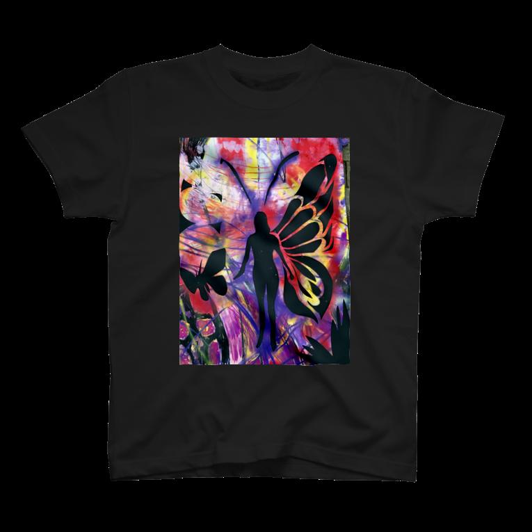 T-shirt size XS〜XXL