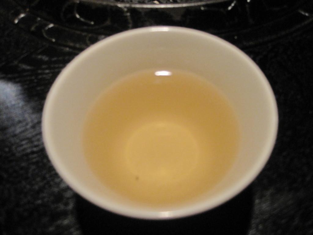 コーン茶*サービス