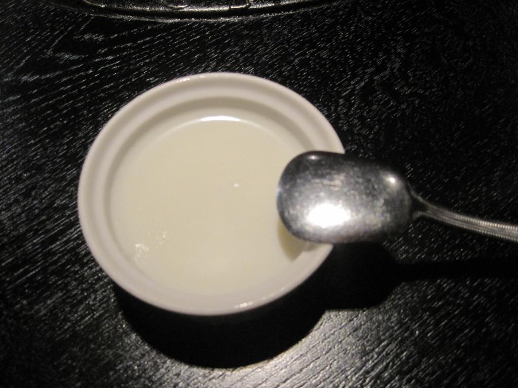 牛乳プリン*サービス