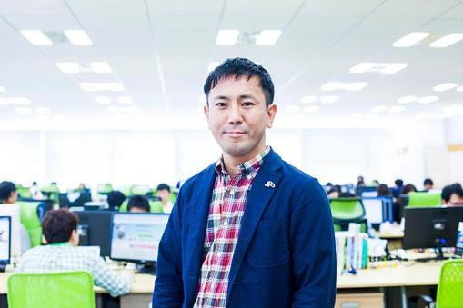 (株)レアジョブ 代表取締役社長 加藤智久さん