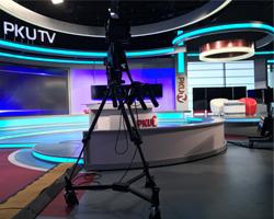 北京大学テレビ局のスタジオ