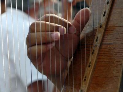 Harfenunterricht, Harfe, Harfenspiel, Dorota Koelblinger, Oldenburg