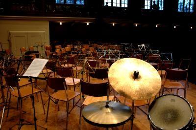Proben mit Orchsester und Kammermusik - Ensembles