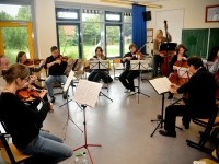 Probe des Oldenburger Kammerorchesters