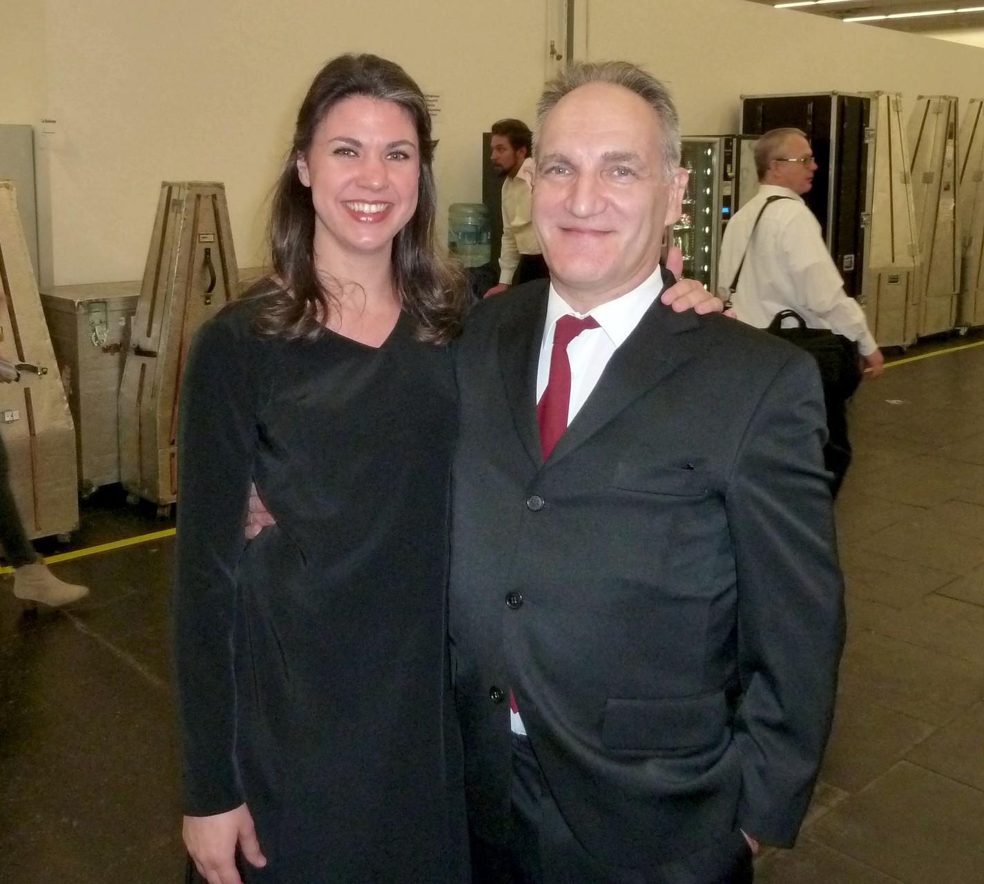 """©Charlotte Sander, Extrachor der Oper Köln mit Volker Kammerer - """"Aida"""" konzertant, 11.12.2015"""