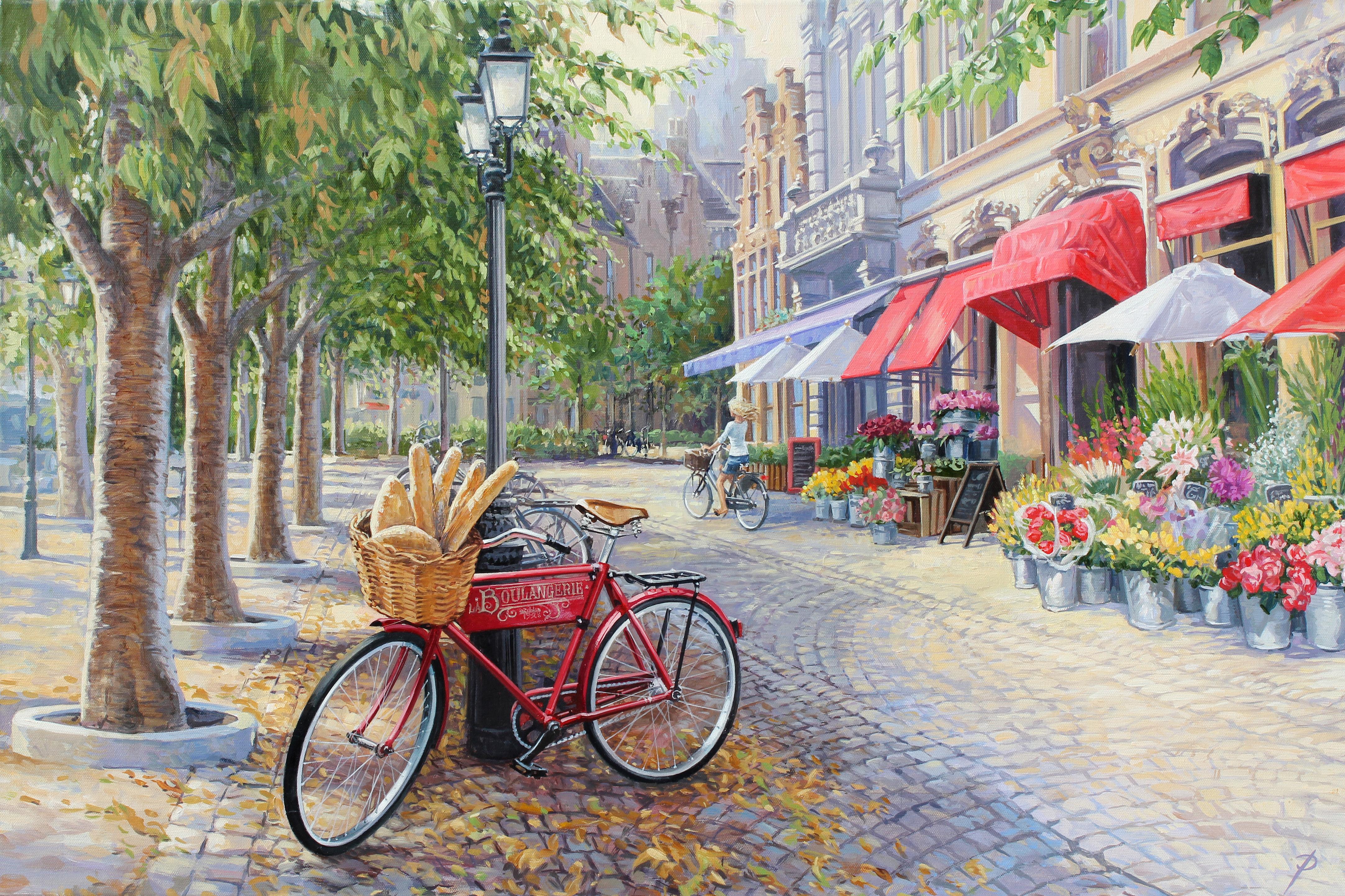 Bicyclettes à Bruges