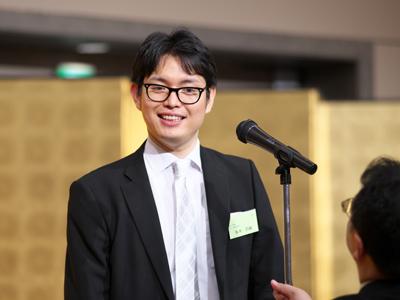 <閉会の辞> (学)赤門宏志学院 法人本部総務課長 坂本浩樹