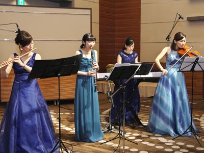 Joy-Clefによる四重奏「叙情曲」演奏