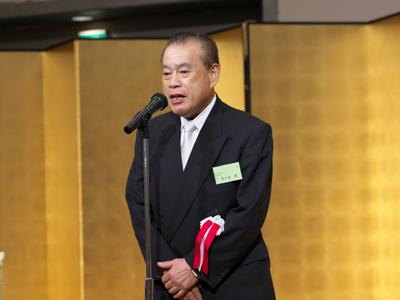 <記念祝賀会挨拶> 赤門鍼灸柔整専門学校同窓会 佐々木賢会長