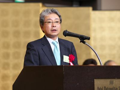 <来賓のご祝辞> (公社)東洋療法学校協会 会長 坂本歩様
