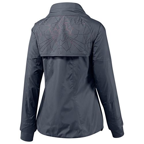 Lasercut on Woven Jacket
