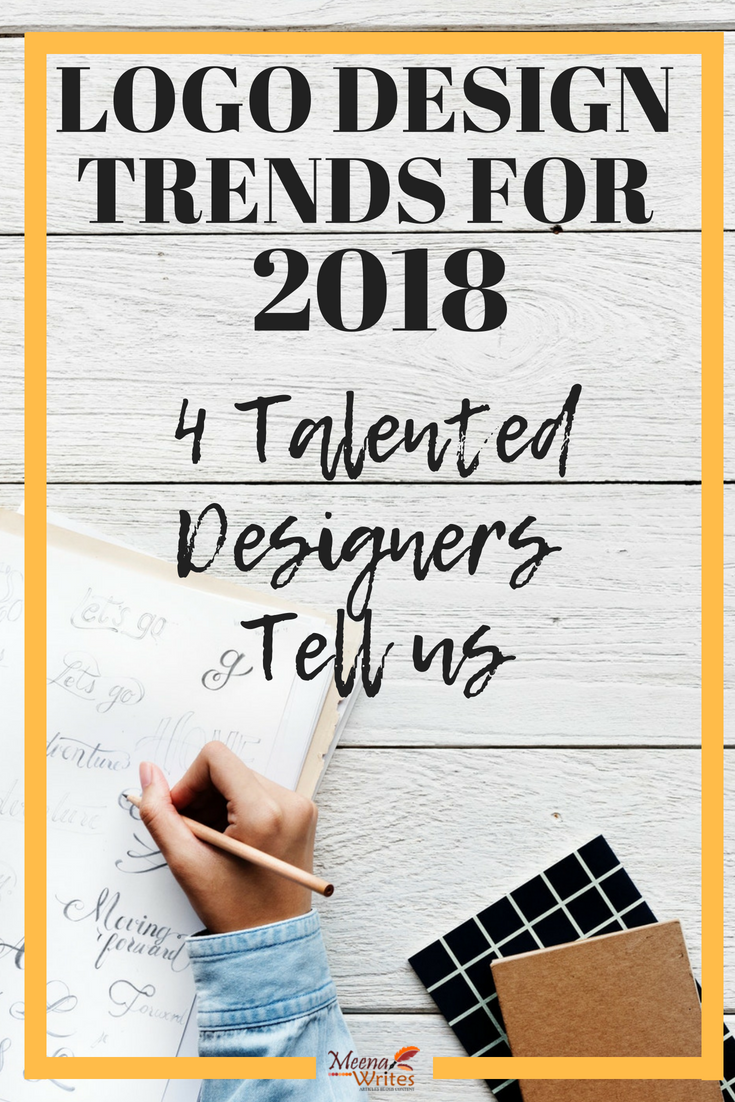 Logo desifn trends for 2018: 4 talented designers tell us