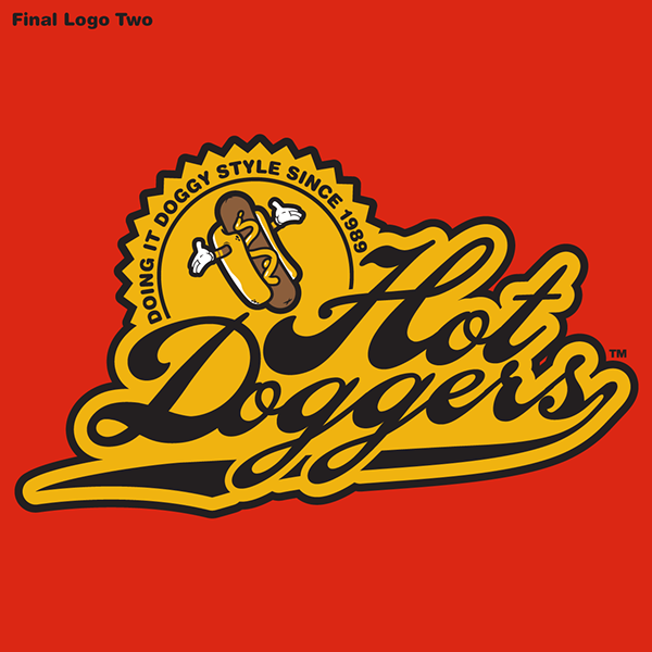 Hot Dogger logo by Jared k. Nickerson