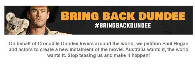 Screenshot: #bringbackdundee