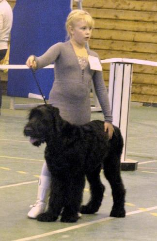 Радомир с юной хозяйкой. Конкурс ребенок и собака.
