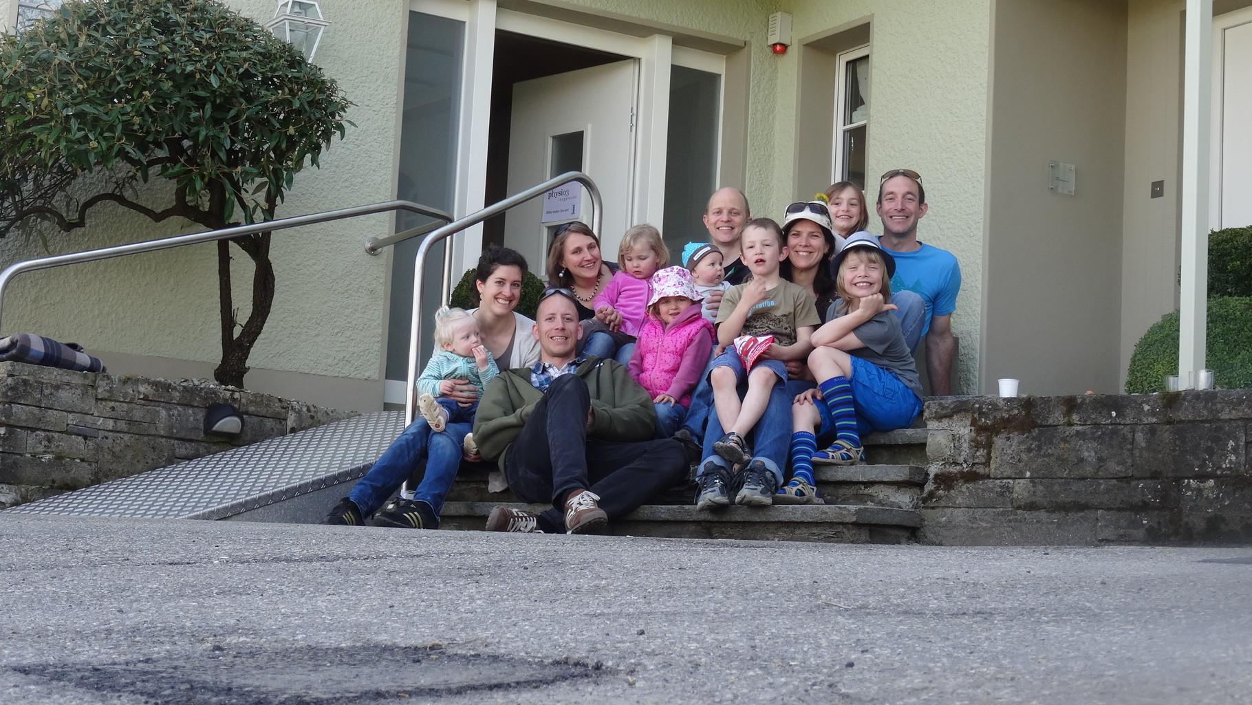 Das gesamte Physio3 Langetental GmbH Team