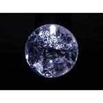レインボー水晶丸玉