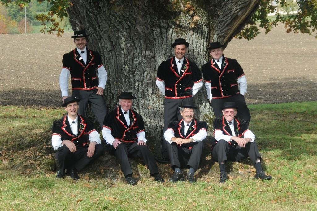von links nach rechts: Thomas Saling, Matthias Kohler, Titus Sigrist, Romeo Laffer, Jürg Jeanloz, Philippe Herren und Adolf Steiner