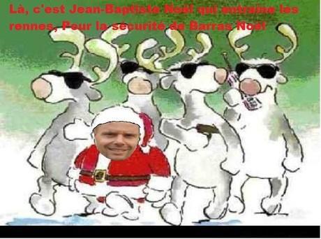 Même pas la sécurité de Briguet Noël !