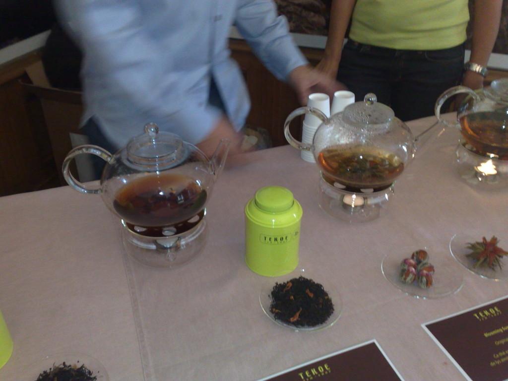 Découverte des saveurs du thé