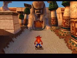 Crash devant un temple